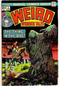 WEIRD WONDER TALES 3 VG April 1974 Golden monster reps