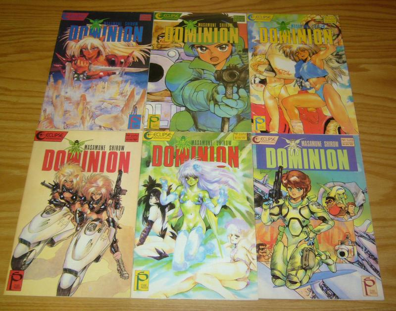 Dominion #1-6 VF/NM complete series - studio proteus - masamune shirow