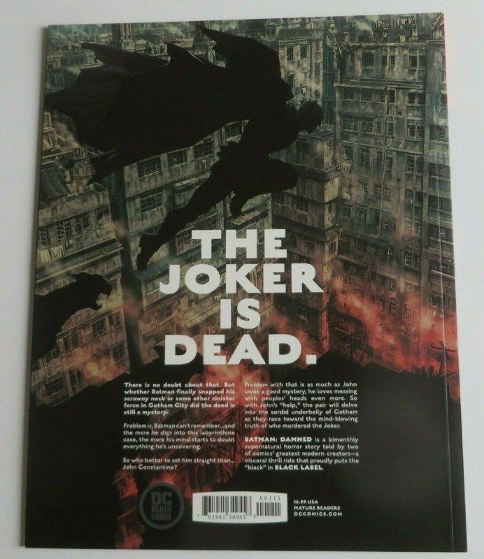 Batman Damned #1-3 Regular 1st Prints & Jim Lee Variant Covers NM DC Black Label
