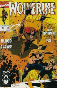 Wolverine #35 VF; Marvel | save on shipping - details inside