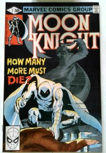 Moon Knight #2 Marvel 1980 VF+ Bronze Age 1st Printing Comic Book