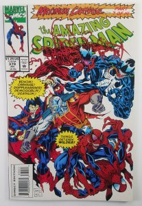 Amazing Spider-man 379 Maximum Carnage #7 Venom High Grade, Marvel 1993 Key
