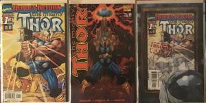 THOR 3 #1'S! DYNAMIC FORCES VARIANT, ROUGH CUT VERSION,DIRECT.ALL N/M 9.4+