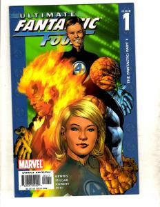 10 Ultimate Fantastic Four Comic Books # 1 2 5 6 7 8 9 10 11 13 Thing Torch MF21