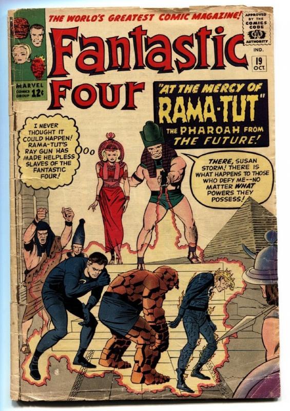 Fantastic Four #19 1963-MARVEL 1st Rama-tut / Kang the Conqueror- G