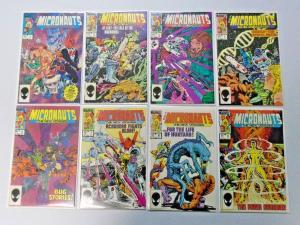 Micronauts The New Voyages SET:#1-20, 8.0/VF (1984-1986)