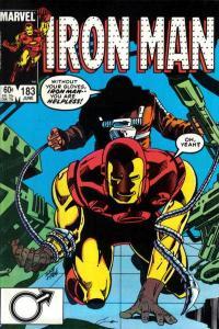 Iron Man (1968 series) #183, VF+ (Stock photo)