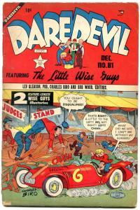 Daredevil #81 1951-Lev Gleason- Charles Biro- Little Wise Guys G