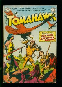 TOMAHAWK #11 1952- DC WESTERN GIRL WHO HATED TOMAHAWK- GOLDEN AGE VG+