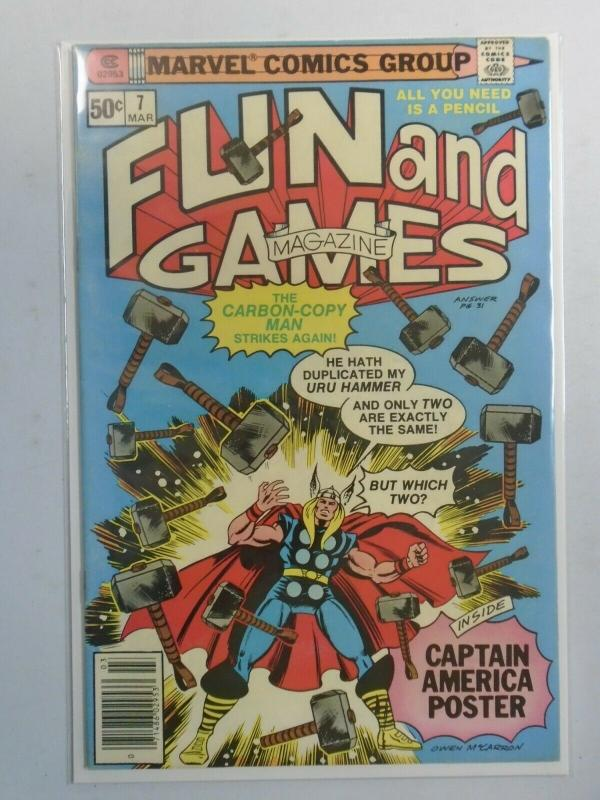 Marvel Fun and Games #7 6.0 FN (1980)