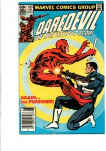 Daredevil #183 newsstand - Punisher - Frank Miller - 1982 - (-Very Fine)