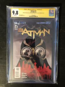 Batman New 52 #4 - CGC 9.8 Signed by Syner, Capullo & Glapion