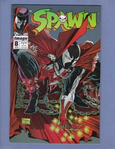 Spawn #8 NM- Alan Moore Todd McFarlane Frank Miller Image Comics 1993