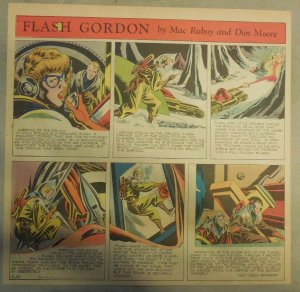 Flash Gordon Sunday Page by Mac Raboy from 4/26/1953  2/3's Full Page Size