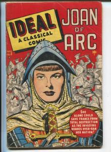 Ideal #3 1948-Timely-Joan Of Arc-SOTI-Boer War-G