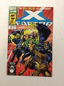 X-Factor 71 NM Near Mint Signed By Larry Stroman W/ C.O.A.