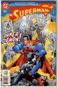 Adventures of Superman   vol. 1   #607 VF