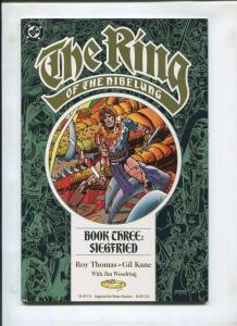 THE RING OF THE NIBELUNG #3, NM, Siegfried, Gil Kane. DC,1989 1990 more in store