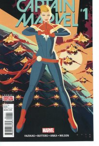 Captain Marvel 1 (2016 series) 9.0 (our highest grade) 1st App Eridani