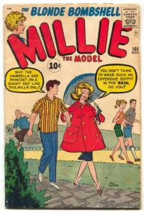 Millie The Model #105 1961-Marvel Silver Age G