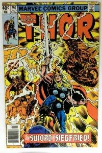 Thor #298 Marvel 1980 VF+ Bronze Age Comic Book 1st Print