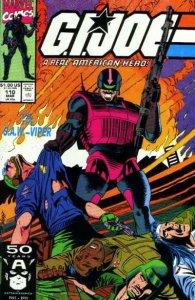 G.I. Joe: A Real American Hero (1982 series) #110, VF+ (Stock photo)