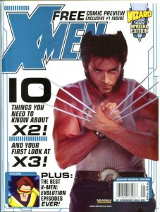 WIZARD SPECIAL Edition #1, VF/NM, Wolverine, Hugh Jackman, X-men, 2003