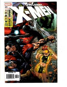 9 Uncanny X-Men Marvel Comic Books # 475 476 477 482 485 486 487 501 503 JD5
