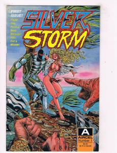 Silver Storm #1 Aircel Comic Book 1990 Cat & Mouse HH1