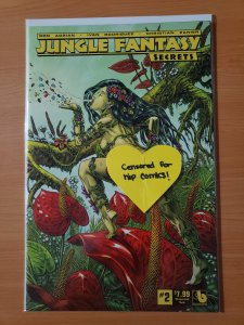 Jungle Fantasy Secrets #2 Wraparound Nude Variant Cover