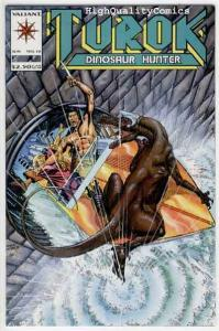 TUROK, DINOSAUR HUNTER #12, NM+, Valiant,  Mike Baron,1993, more in our store