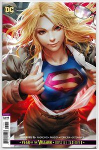 Supergirl #36 Derrick Chew Card Stock Variant (DC, 2020) NM