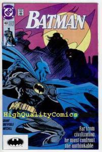BATMAN #463, NM, Alan Grant, 1991, Ghost, Gotham City, Wayne, more BM in store