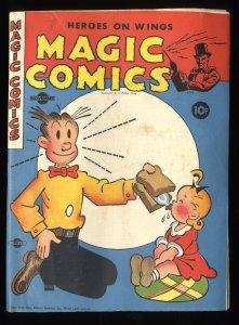 Magic Comics #52 FN 6.0 Blondie Mandrake Popeye Lone Ranger!