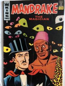 Mandrake #8, FN, his sidekick speaks to the times!