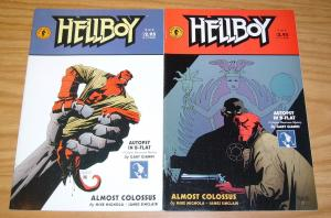 Hellboy: Almost Colossus #1-2 VF- complete series - mike mignola - gary gianni
