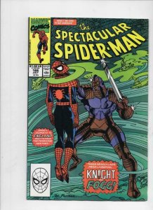 Peter Parker SPECTACULAR SPIDER-MAN #166 VF+, Liverpool 1976 1990 more in store