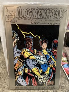 Judgment Day (Lightning) #1 NM; Lightning comics Promotional Copy