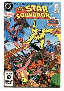 All-Star Squadron #33 1984 Freedom Fighters issue DC comic book
