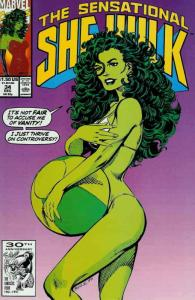 Sensational She-Hulk, The #34 VF/NM; Marvel | save on shipping - details inside