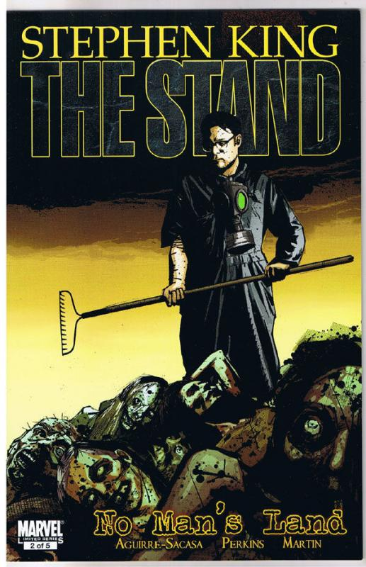 STEPHEN KING : STAND - NO MAN'S LAND #2, 2011, NM, Virus, more in store