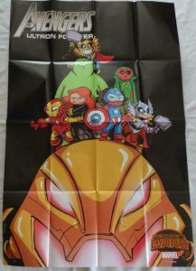 AVENGERS SECRET WARS  Promo Poster, 24 x 36, 2015, MARVEL, Unused 202