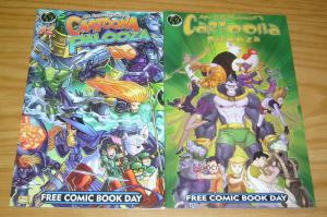 Ape Entertainment's Cartoonapalooza #1-2 VF/NM complete series - kevin grevioux