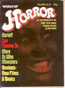 WORLD OF HORROR (1970S DALLRUTH)   8 VG