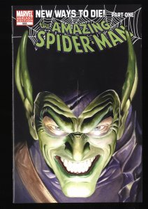 Amazing Spider-Man #568 VF+ 8.5 Green Goblin Variant!