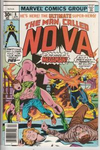Nova, the Man Called #8 (Apr-77) FN/VF Mid-High-Grade Nova