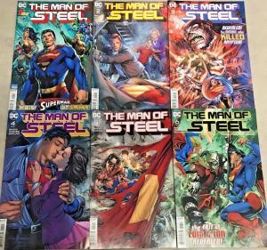THE MAN OF STEEL#1-6 VF/NM LOT 2018 SUPERMAN  DC COMICS