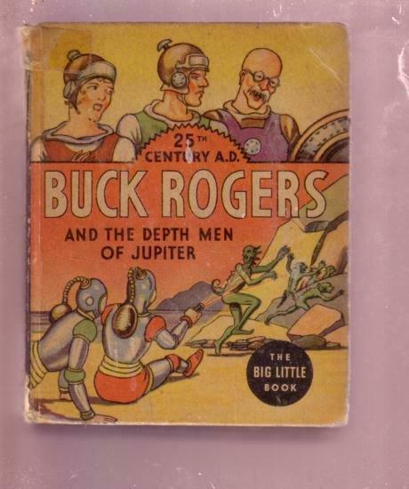 BUCK ROGERS DEPTH MEN OF JUPITER 25 CENTURY #1169 BLB VG