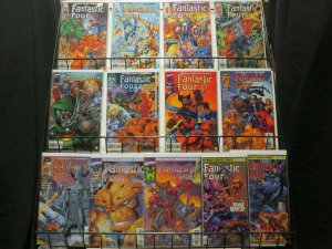 FANTASTIC FOUR (1996) 1-13  JIM LEE  complete set!