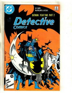 Lot Of 2 Detective Comics DC Comic Books # 576 578 NM Range Batman Gotham HJ9
